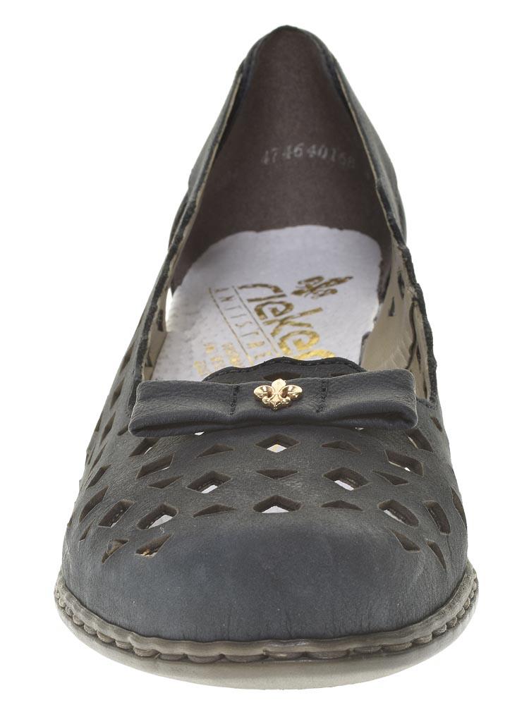 eac68fd499b6 Rieker (синий) туфли женские лето артикул 40965-14 — купить в ...